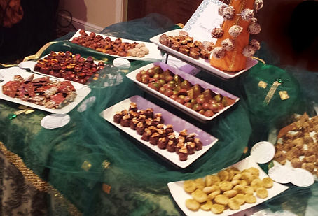 mehndi chocolate table, chocolate table houston, mithai table houston, indian sweets houston, pakistani wedding, indian wedding, wedding dessert table
