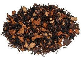 chocolate tea, loose leaf gourmet chocolate tea