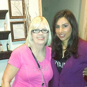 Dinair, Dina Ousley, Transformations Makeup Academy, Dinair Houston, Chamak Makeup,