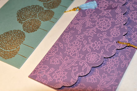 handcrafted stationary, Indian stationary, Pakistani stationary, Indian wedding card, Pakistani wedding card, Tassel, Blockprint, Kaghaz, handcrafted note, specialty handmade envelope, ethnic paper