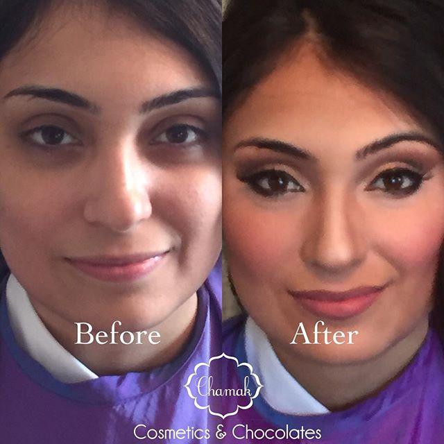 Soft Bridal makeup @chamakcosmetics