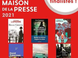 Mon roman dans la sélection finale Prix Maison de la Presse