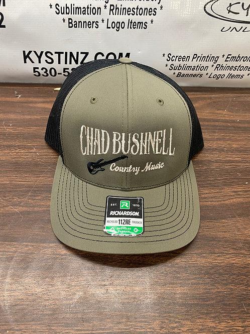 Snapback Trucker Hat (Green/Black)