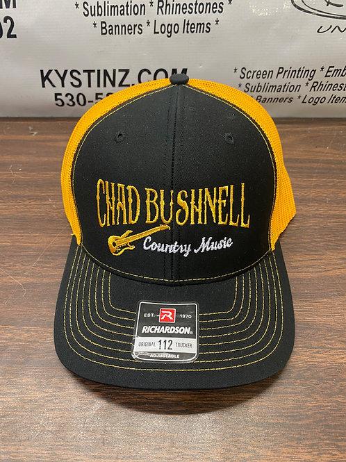 Snapback Trucker Hat (Orange/Black)