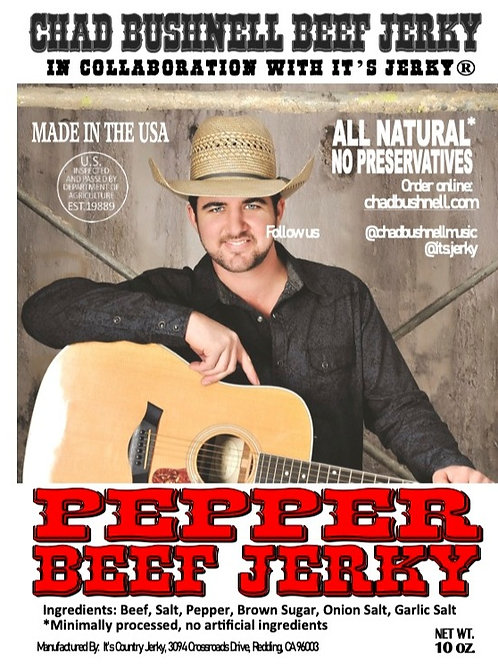 Chad Bushnell Beef Jerky