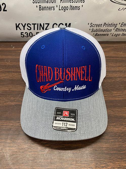 Snapback Trucker Hat (Red/White/Blue)