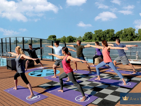 Staying Active on a River Cruise