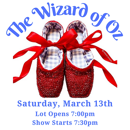 Tickets: March 13th, 7:30pm