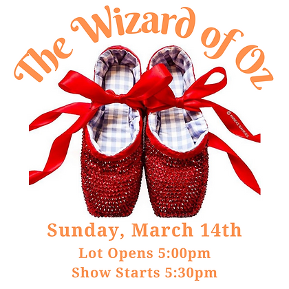 Tickets: March 14th, 5:30pm