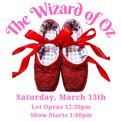 Tickets: March 13th, 1:00pm