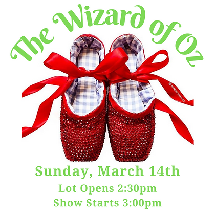 Tickets: March 14th, 3:00pm