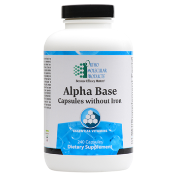 Alpha Base Capsules without Iron