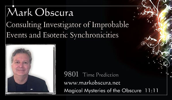 Mark Obscura Magic Mentalism in Charlotte NC