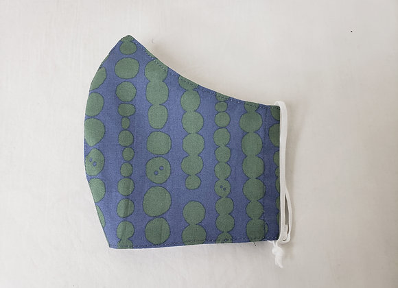 Mask for Adult, Blue&Green