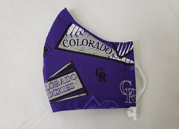 Mask for Adult, Rockies