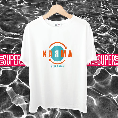 Tshirt KARMA (keep going)