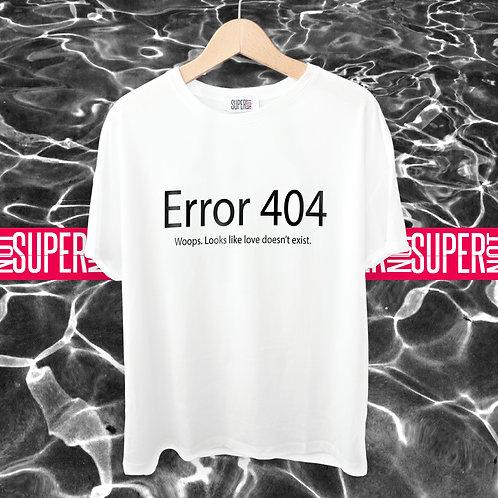 Tshirt Error 404