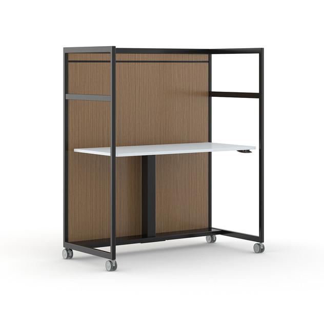 Adjustable-Height Work Cart