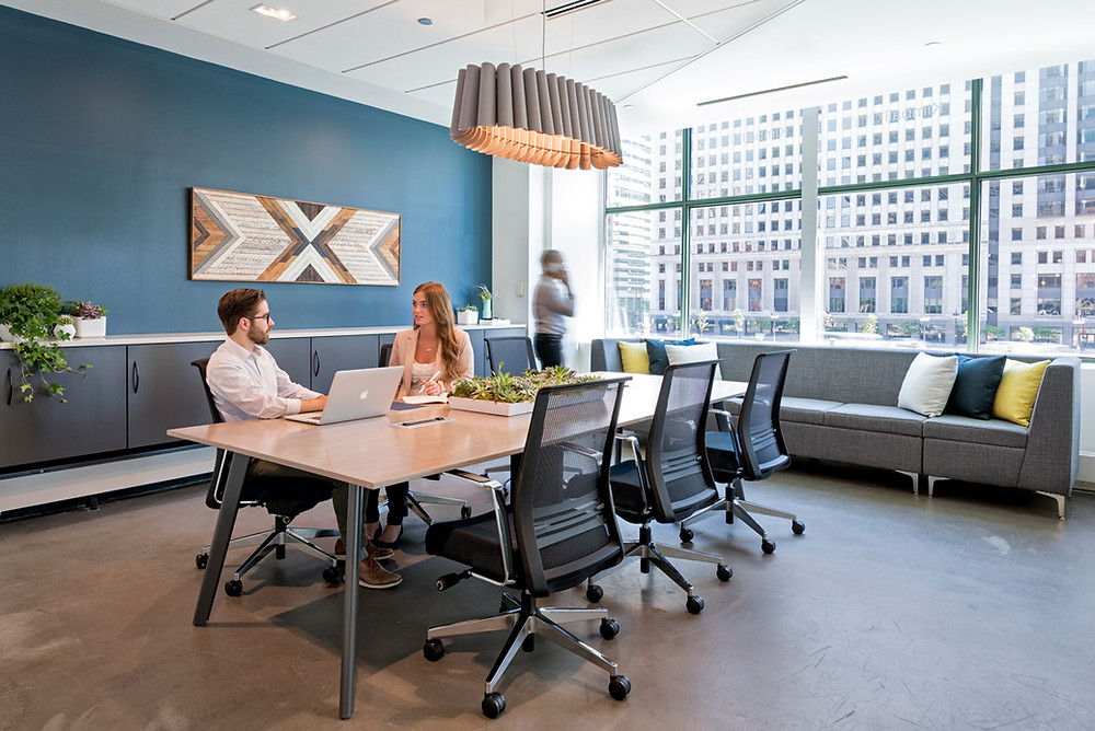 The impact of color within the workspace