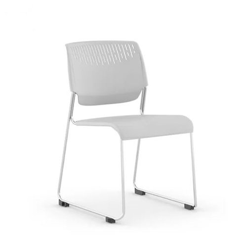 Kimball Poly Armless Stacking Chair