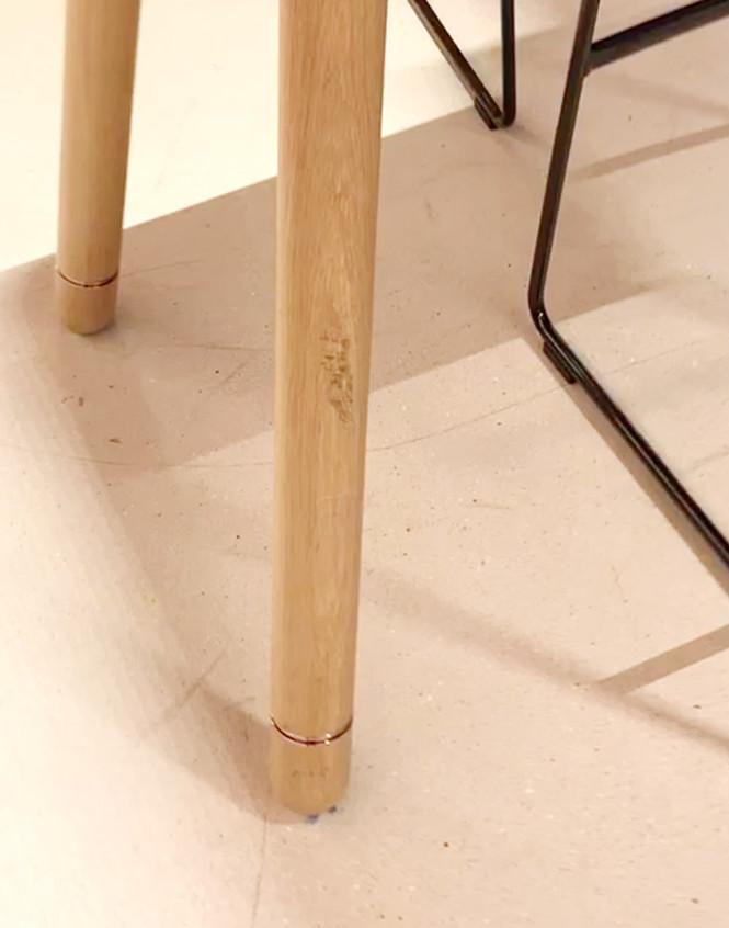 Rose Gold Leg Detail