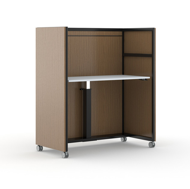 Work Cart with End Panels