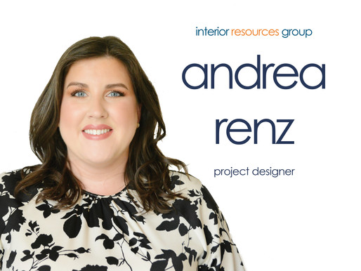 Interior Resources Group Welcomes Andrea Renz as Project Designer