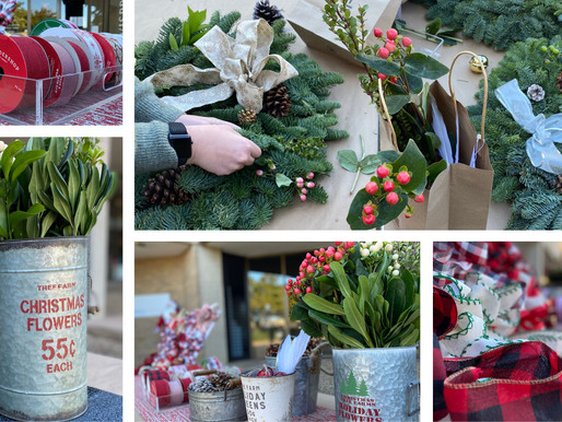 Wreath Styling with the Dallas Design Community