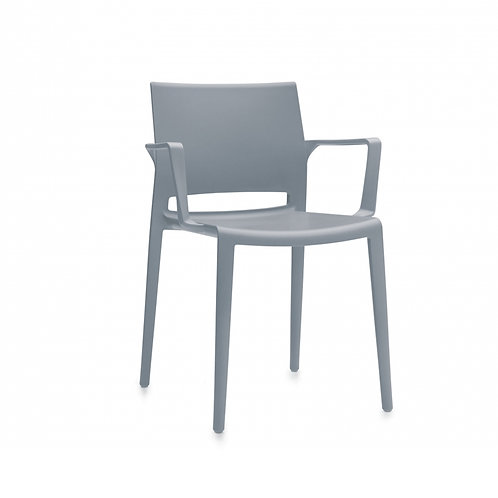 Global Bakhita Stacking Chair with Arms