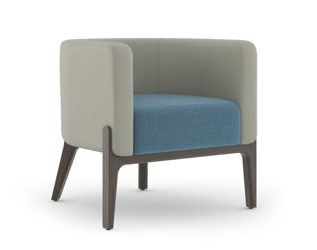 Wilder Lounge w/ Contrasting Seat