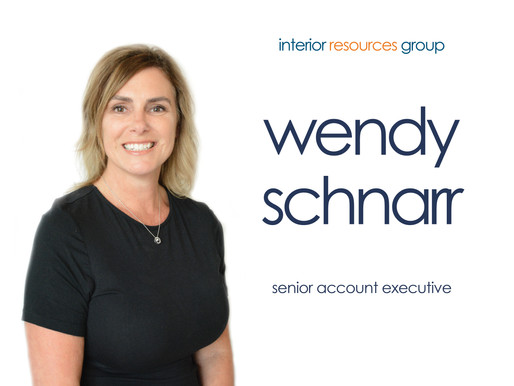 Interior Resources Group Welcomes Wendy Schnarr as New Senior Account Executive