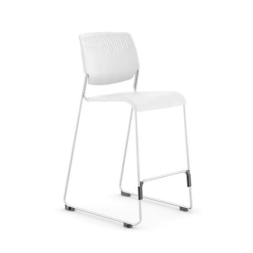 Kimball Poly Armless Stacking Stool (Bar Height)