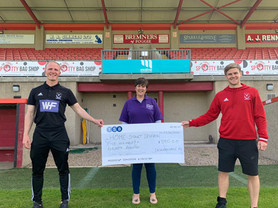 Cheques Presented to Local Organisations