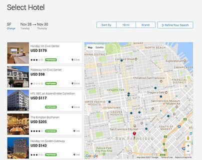 Executive Travel Deem Hotel Software
