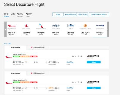 Corporate Travel Booking Tool - Deem Travel Flights