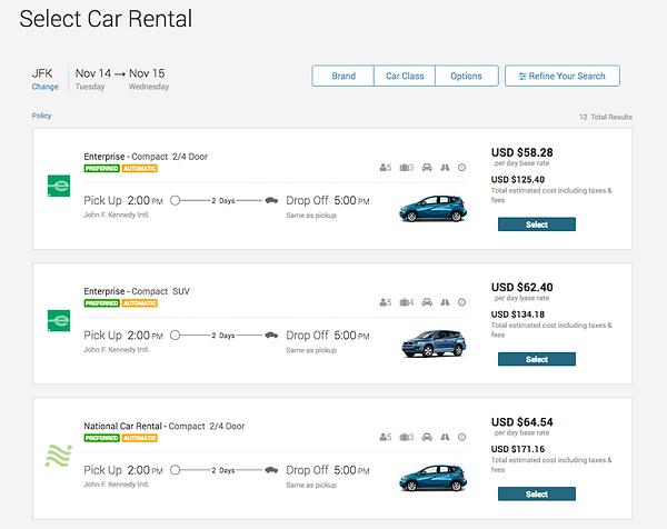 Deem Car Rentals