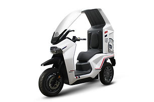 連袂三陽工業  發表世界首款鋁電池電動車