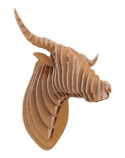 Cardboard Bull 4