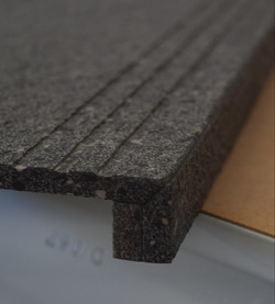 Bullnose Square with Step Thread