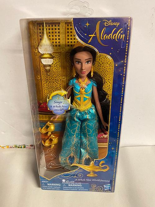 Aladdin Live Action Movie fashion doll Singing Jasmine