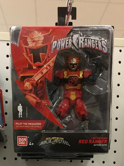 Lion Fire Armor Red Ranger Action Hero