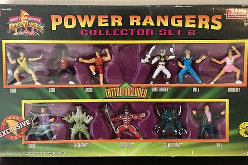 "Mighty Morphin Power Rangers 3"" Collectible Figures Series Collector Set 2"
