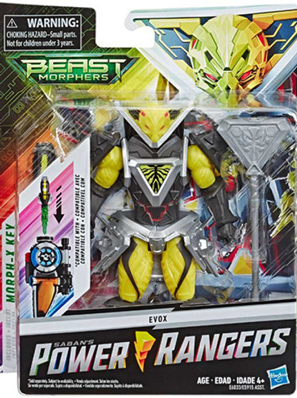 Power Rangers Beast Morphers Evox Villain Action Figure