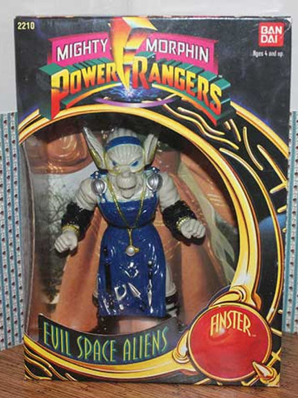 """Mighty Morphin Power Rangers Evil Space Aliens Finster 8"""" Action Figure"""