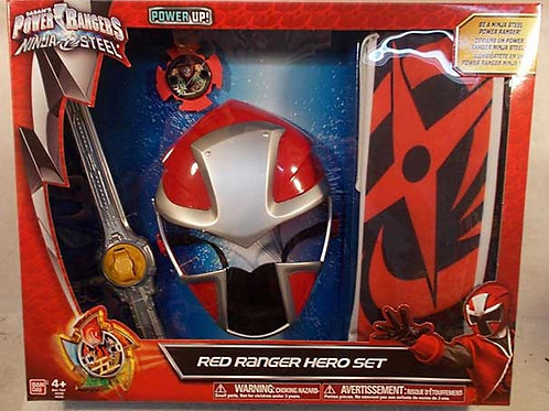 Red Ranger Hero Set