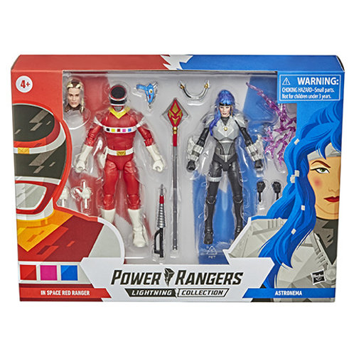POWER RANGERS LIGHTNING COLLECTION In Space Red Ranger & Astronema