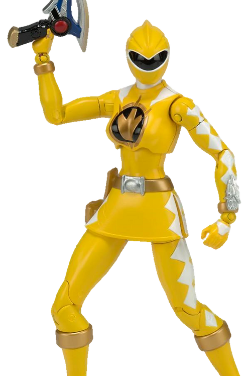 Power Rangers Legacy Collection Wave 5 Yellow Dino Thunder Ranger