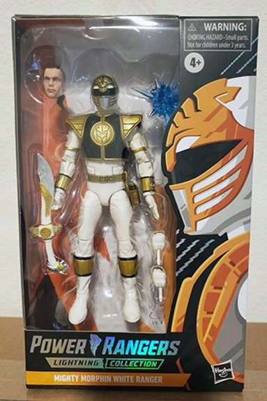 POWER RANGERS LIGHTNING COLLECTION (Spectrum Series Wave 1) Mighty Morphin White
