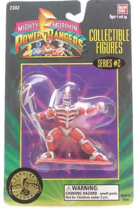 "Mighty Morphin Power Rangers 3"" Collectible Figures Series 2 Lord Zedd"