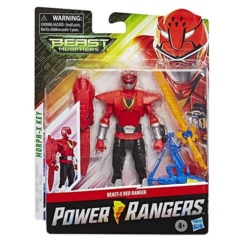 Power Rangers Beast Morphers Beast-X Red Ranger Action Figure